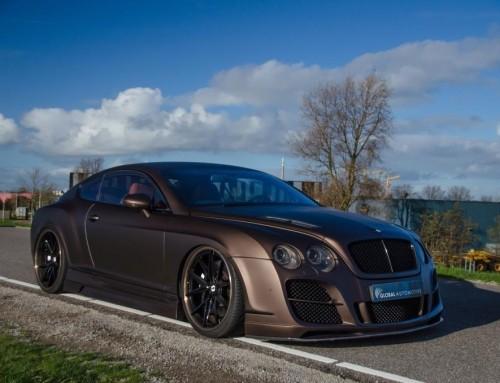Te koop in NL: heftig aangepakte Bentley Continental GT